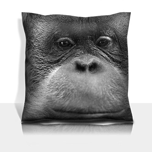Msd Throw Pillowcase Polyester Satin Comfortable Decorative Soft Pillow Covers Protector Sofa Orang Utan Monkey Portrait While Looking At Yuo Image 33721268 Customized Tablemats Sta