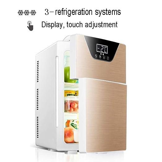 NYGJMNBX Mini Puerta Frigorífico Mini refrigerador Compacto de 20 ...