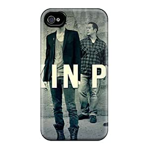 SherriFakhry Apple Iphone 4/4s Best Cell-phone Hard Covers Support Personal Customs High-definition Linkin Park Pattern [PbR49612juxC]