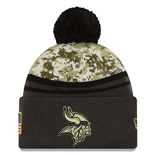 Minnesota Vikings Salute to Service Knit Hat 01ec55c57