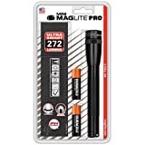 Maglite Mini PRO LED 2-Cell AA Flashlight with Holster Black