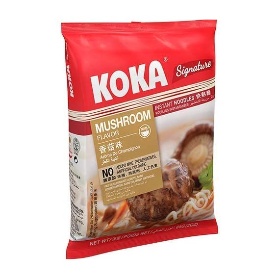 KOKA Signature Mushroom Noodles(85g x 4 Packs)