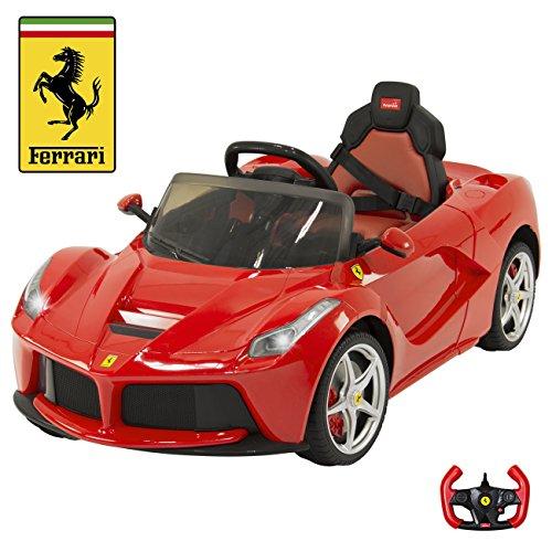 12V Electric Kids Ride On LaFerrari RC Remote Control Car- R