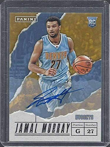 Jamal Murray 2017 Panini Fathers Day Nuggets Rookie Auto Rc #56 - Panini Certified - Basketball Slabbed Autographed Rookie ()
