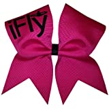 Chosen Bows New iFly Cheer Bow, Hot Pink