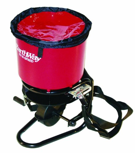 Earthway Fertilizer Spreaders (EARTHWAY PRODUCTS INC P 3100 COMMERCIAL CRANK SPREADER RED 40 POUND HOPPER)