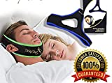 Two Pack-Anti Snoring Chin Strap - Most Effective Snoring Solution and Anti Snoring Devices - Snoring Chin Strap - Stop Snoring Sleep Aid for Men and Women [New Version]