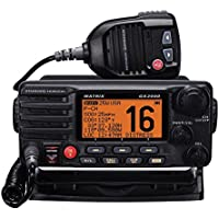 Standard STD-GX2000-B 25-Watt Fixed Mount Matrix VHF Radio with AIS Display and Loudhailer (Black)