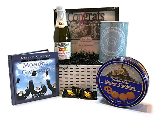 Graduation Gift! - Snacks - Gifts - Great Gift Basket for Wishing a Happy Graduation! (High School Grad Basket)