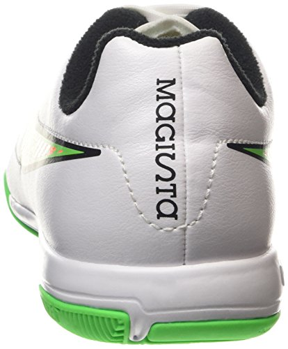 Nike Jr. Magista Onda IC Unisex-Kinder Fußballschuhe Weiß (White/Psn Green-Blk-Ttl Orng 130)