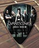Printed Picks Company Evanescence 2011 Tour Premium Guitar Pick x 5 Medium