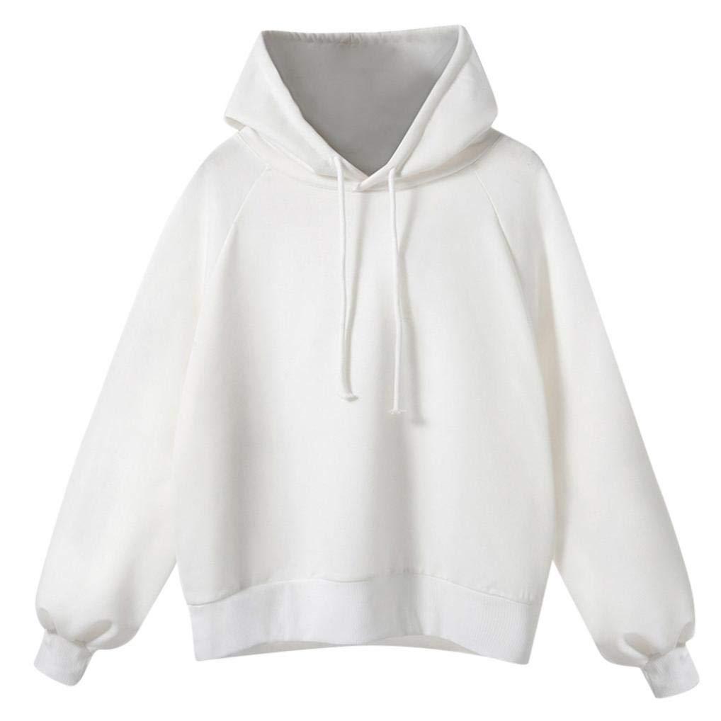 TOOPOOT Womens Sweatshirt,Ladies Long Sleeve Hoodie Sweatshirt Hooded Coat Pullover by TOOPOOT-Coat (Image #1)