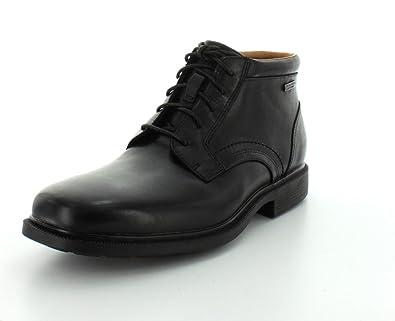 Amazon.com | Rockport Mens Dressports Luxe Waterproof Chukka Boot ...
