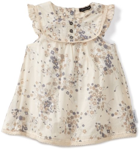 Calvin Klein Baby Girls' Sleeveless Print Dress Set