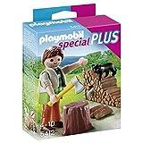 Playmobil Lumberjack with Firewood Playset
