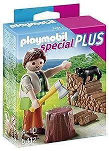 Playmobil Especiales Plus - Leñador (5412)