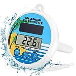 Gafild-Termometro-Digitale-per-Piscina-SolareTermometro-Galleggiante-Piscina-con-precisione-del-termometro-per-EsterniInterni-Vasche-Spa-e-Acquari
