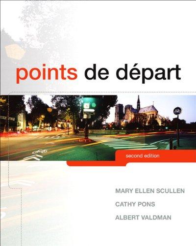 Points de départ (2nd Edition)