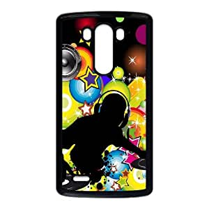 DJ LG G3 Cell Phone Case Black Classical