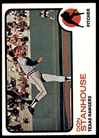 1973 Topps #352 Don Stanhouse Near Mint RC Rookie Rangers
