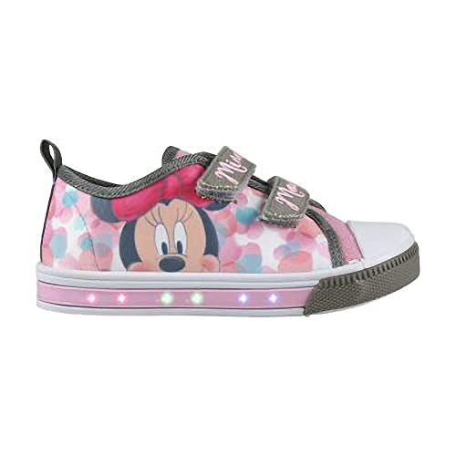 Zapatillas Minnie Mouse con Luz (29)