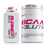 SHREDZ Performance Supplement Stack for Women, Includes Thermogenic Fat Burner MAX and BCAA, Diet Pills for Weight Loss, Clean Energy, Clinically Tested Ingredients, Superior Results (1 Month Supply)