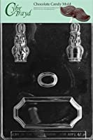 Cybrtrayd Life of the Party E419 Easter Centerpiece Chocolate Candy Mold in Sealed Protective Poly Bag Imprinted with Copyrighted Cybrtrayd Molding Instructions