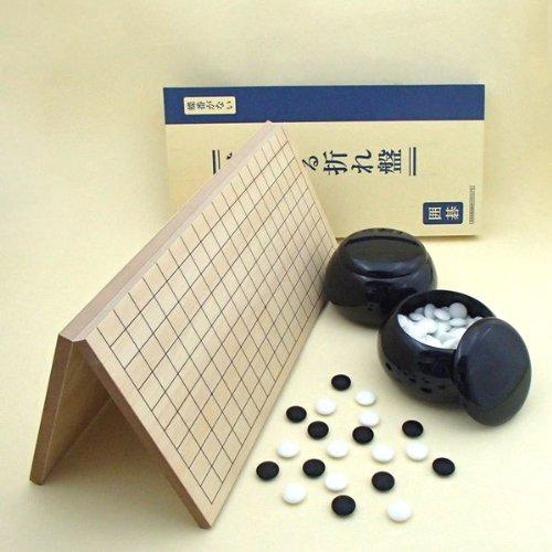 囲碁セット 棋になる折碁盤とP碁笥黒と新生梅のセットの商品画像