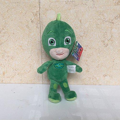 Super Villains Costumes Uk (Just Play Masks Bean Gekko Plush 20CM)