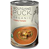 Wolfgang Puck Organic Creamy Tomato Soup, 14.5 Ounce (Pack of 12)