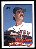 1989 Topps # 188 Dennis Lamp Boston Red Sox (Baseball Card) Dean's Cards 8 - NM/MT Red Sox