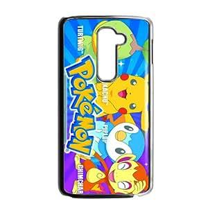 Pikachu Pocket Monster Pokemon Black LG G2 case