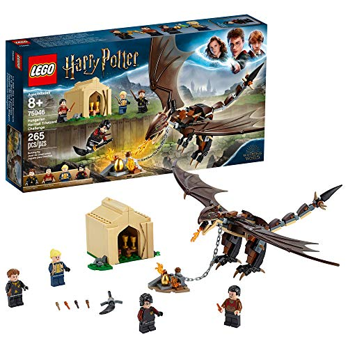 LEGO Harry Potter and The Goblet of Fire Hungarian Horntail Triwizard Challenge 75946 Building Kit, New 2019 (265 Pieces) (Potter Harry Games Lego)