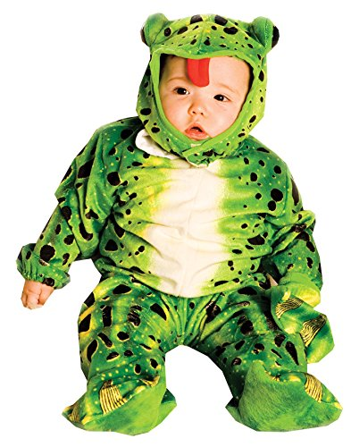 Tree Frog Halloween Costume (Underwraps Costumes Baby's Frog, Green/Black, Large)
