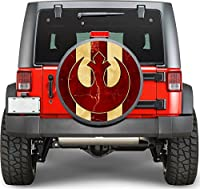 Star Wars logo Sticker Full Color Spare Tire Cover Decal, Sticker Wheel Cover gc1611