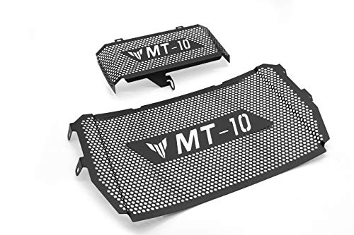 Motorcycle Radiator Guards - COPART Motorcycle Radiator Guard Grille & Oil Cooler Guard Protector for Yamaha MT-10 FZ-10 2016 2017
