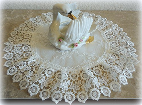 Doily Ivory Princess Lace European Dress - Bedroom Round Dresser Shopping Results