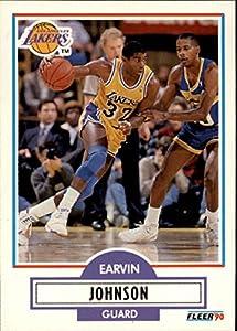 1990-91 Fleer #93 Magic Johnson Card