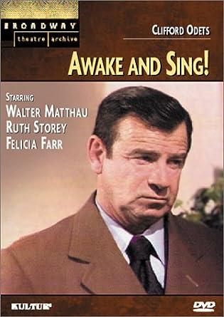 Awake and Sing! [USA] [DVD]: Amazon.es: Walter Matthau ...