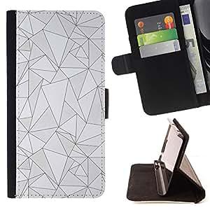 - Queen Pattern FOR Samsung Galaxy S5 V SM-G900 /La identificaci????n del cr????dito ranuras para tarjetas tir????n de la caja Cartera de cuero cubie - pattern black lines poly ar