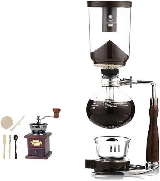 FYHKF Cafeteras de vacío Sifón Cafetera Set Coffee Siphon Technia ...