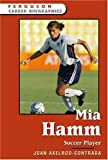 img - for Mia Hamm (Ferguson Career Biographies) book / textbook / text book