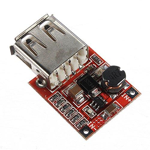 LaDicha 2Pcs 3V A 5V 1A Cargador USB DC-DC Convertidor ...
