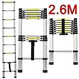 Suchprice Telescopic Ladder (2.6m / 3.8m / 4.4m) (2.6M)