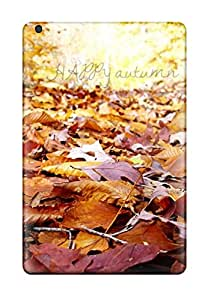 Durable Protector Case Cover With Artistic Autumnleaves Happy Hot Design For Ipad Mini/mini 2