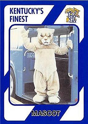 Wildcat Mascot Basketball Card (Kentucky Wildcats) 1989 Collegiate Collection #125