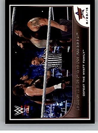 Amazon com: 2016 Topps WWE Road to Wrestlemania #76 Roman