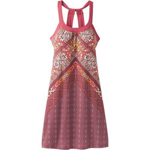 prAna Cantine Dresses, Crushed Cran Marrakesh, X-Small