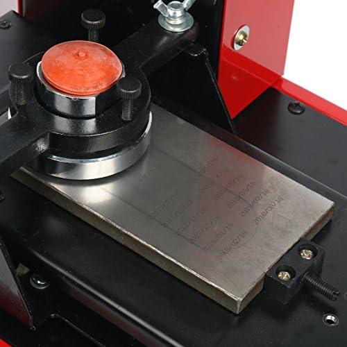 yaetek Pad impresora escritorio Pad impresora máquina ym600-b 230 V eléctrica tampografía máquina Move cartucho de impresión camisetas bolas bolígrafos luces etc.: Amazon.es: Oficina y papelería