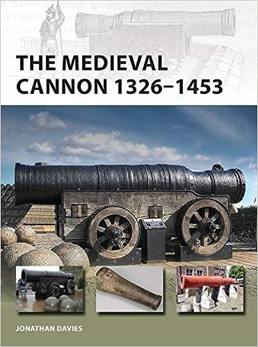 The Medieval Cannon 1326 1453 New Vanguard Amazoncouk Jonathan